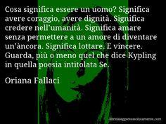 Cartolina con aforisma di Oriana Fallaci (9)