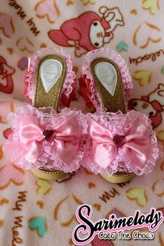 ♡.* DIY Hime shoes♡.*