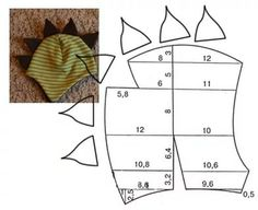 выкройка детской шапки из флиса: 25 тыс изображений найдено в Яндекс.Картинках Hat Patterns To Sew, Sewing Patterns Free, Sewing Tutorials, Sewing Baby Clothes, Baby Sewing, Funny Hats, Small Sewing Projects, Baby Bonnets, Flower Pillow
