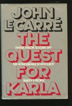 The Quest for Karla is an omnibus of three of John le Carré's novels–Tinker, Tailor, Soldier, Spy; The Honorable Schoolboy and Smiley's People. They are all Cold War espionage novels protagonized by the aging spy George Smiley, whose emotions and inner thoughts are masterfully depicted by le Carré. Tinker, Tailor was one of the hardest books I ever read, being set in 70's England and being very long. I hope to finish the other books in the trilogy and give a proper closure to it.