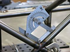 Stainless Steel laser engraved angle finder