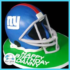 ny giants helmet birthday cake nj
