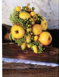 Необычные букеты для невесты: маки, овощи, артишок - Nashasvadba.net