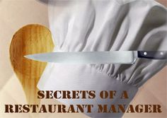 Secrets of a Restaurant Manager is part of the adult summer reading program - Reading is Delicious.  In this program you will learn from a veteran restaurant manager how to get the best deals, seats and wait staff at a restaurant.  Tasting is included at the California Pizza Kitchen!  Tuesday, July 16 7pm At California Pizza Kitchen, 531 Cowper St., Palo Alto Registration required FREE!