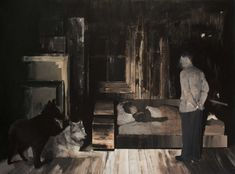 ADRIAN GHENIE  The Nightmare, 2007  200 x 145 cm  oil on canvas
