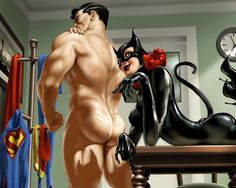 CATWOMAN&SUPERMAN