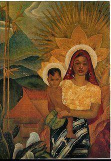 Filipina Madonna and Child https://melaniejeanjuneau.wordpress.com/2015/04/10/ethnic-images-of-mary/