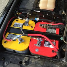 Land Rover Discovery II   •   Overland Designs Battery Box   •   Dual Optima Batteries    •   National Luna Dual Battery Intelligent Solenoid