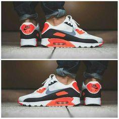 "Hot kicks 2016 @Nike Air Max 90 ""Infrared"" Ultra Essential  #nike #nikeaormax90 #kicksonfire #sneakertrends #footweartrends #athleticwear #sportswear #footwear #sneakerheads #menssneakertrends #shoefetish #shoelovers #menswear #streetwear #streetluxe #dandy #bespoke #mensfashiontrends #dandystyle #dapper #mensfashionnetwork #mensfashiontrends #gq #complex #hypebeast #urban #cyclists #hiphopclothing #mensfashionblog"