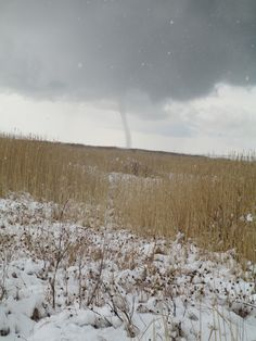 Have you ever seen a tornado with snow on the ground? These Utah pheasant hunters did! Here's the original link: http://uplandutah.blogspot.com/2012/11/utah-pheasant-hunt-first-week.html
