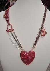 Asymmetrical Hearts and Chains