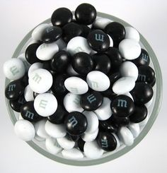 Black and White M&M's®