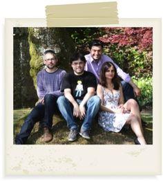 Los 4 promotores: Carlos F. Balseiro, Pablo Carracedo, Beatriz Hervella y Eduardo Penabad