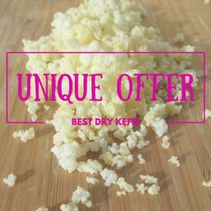 The only one Dehydrated Milk Kefir Grains posted worldwide. So far to over 40 countries!