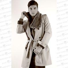 Filipe Ninhos faz sessão fotográfica com o fotografo de moda Daniel Mergulhão. Fotografia com gabardine creme com styling anos 30. www.facebook.com/danielmergulhaofotografo