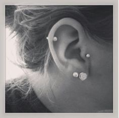 Minus the cartilage piercing, I have to cartilage piercings on the other ear