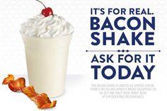 Milk Shake de Bacon!