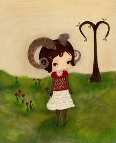 Cutest Aries picture ever.