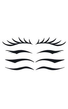 Stargazer Temporary Eye Liner Tattoo £3,99