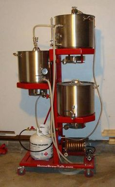More Beer's Gravity Beer Sculpture - Home Brew Forums