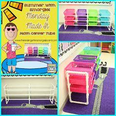 Smedley's Smorgasboard of Kindergarten: A Kindergarten Smorgasboard Monday Made It: Math Tub Center