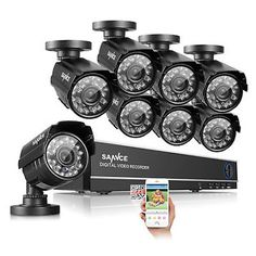 SANNCE 8CH 960H HDMI DVR 900TVL HD IR Cut CCTV Video Home Security Camera System    $149.40   $177.99   (249 Available)End Date: Sep 072016 07:59 AM GMT-07:00