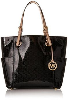 Now available on our store:  MICHAEL Michael K... Check it out here ! http://mamirsexpress.com/products/michael-michael-kors-signature-patent-east-west-tote
