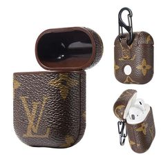 Best Luxury Louis Vuitton AirPods Case Earphone Air Pods Protector Cover Monogram Canvas - Useful: Louis Vuitton Luxury Designed For Apple AirPods wireless headphone box, fitting, not easy slide out and keep it always in new look. Iphone 6, Iphone 8 Plus, Iphone Cases, Fone Apple, Xmax, Earphone Case, Airpod Case, Iphone Accessories, Watch Accessories