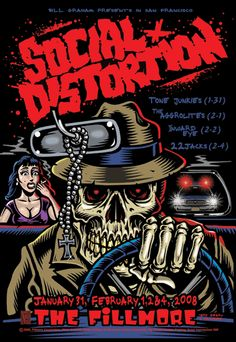 Social Distortion.  Click on pic for more!