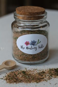 Hey Friends!  I'm back with another homemade seasoning blend!  I have gifted jars of my All-Purpose Seasoning to many of my friends and family&