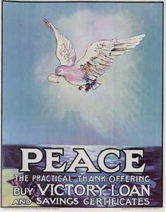 Ismeretlen művész: Peace (1919)