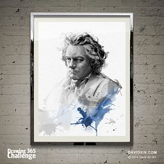 """To play without passion is inexcusable!"" - Ludwig van Beethoven Day 28"