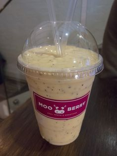 Mango Passion Smoothie - Mooberry Dessert & Breakfast Bar, Neutral Bay