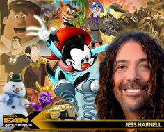 Welcome our next Salt Lake Comic Con FanXperience 2015 guest... voice actor and singer, Jess Harnell! He is best known for voicing Wakko Warner in Animaniacs and Ironhide in the Transformers film series.