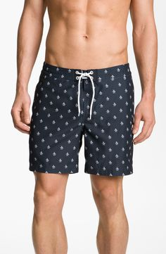 Original Penguin Print Volley Swim Shorts | Nordstrom