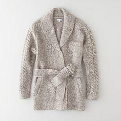 Luke Wrap Sweater