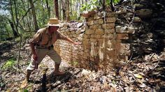 Two ancient Mayan cities found in Mexican jungle: Archaeologist Ivan Sprajc: Archaeologist Ivan Sprajc in the jungles of Mexico, searching f...