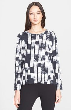 Donna Karan New York Needle Punch Cashmere Sweater available at #Nordstrom