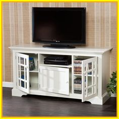 75 white highboy tv stand #white #highboy #tv #stand Please Click Link To Find More Reference,,, ENJOY!! Big Lots Electric Fireplace, Electric Fireplace Entertainment Center, Tv Entertainment Centers, 55 Tv Stand, Farmhouse Tv Stand, White Farmhouse, Tv Media Stands, White Tv Stands, Dining Room