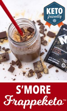 Toasted marshmallows + melty chocolate sandwiched between two graham crackers, thats what campfire dreams are made of! Luckily for you, our S'more Frappketo™ can transport you there ?