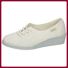ISASA ,  Damen Sneakers , weiß - weiß - Größe: 35 - Sneakers für frauen (*Partner-Link)