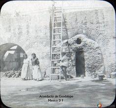 Fotos de Ciudad de México, Distrito Federal, México: Acueducto de Guadalupe 1900