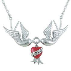 Love Doves Necklace - Controse
