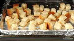 Make your own bread crumbs for stuffing, meatloaf, coating meat, etc.