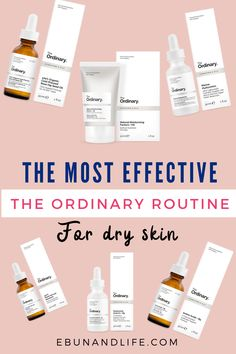 Did you skin and you are looking for the best products for your face? Try this The ordinary skin care routine for dry skin. # the ordinary Dry Sensitive Skin, Oily Skin Care, Face Skin Care, Skin Care Tips, Skin Tips, Serum For Dry Skin, Dry Skin On Face, Moisturizer For Dry Skin, The Ordinary For Dry Skin