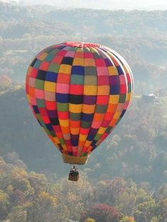 Seeing the Asheville, NC area from the sky ... Asheville Hot Air Balloons
