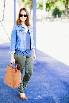 Pantalones cargo : via MIBLOG