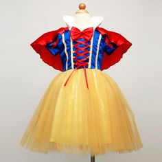 2-12 Years Fantasia Snow White Girl Dress Halloween Children's Cosplay Dresses Girls Party Birthday Clothes Kids Christmas Dress #>=#>=#>=#>=#> Click on the pin to check out discount price, color, size, shipping, etc. Save and like it!