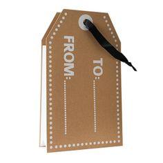 Cadeautas label #nanaas #giftbag #label http://www.nanaas.nl/a-36948550/cadeaubonnen-inpakken/cadeautas-label/
