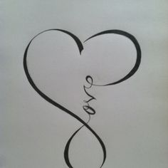 infinity.+I+love+this - Click image to find more Art Pinterest pins